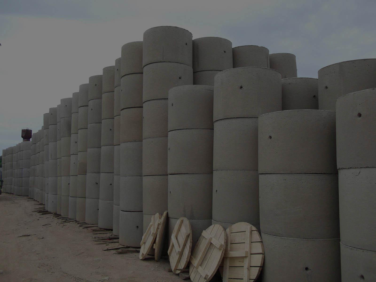 Кольца из бетона для септиков и колодцев